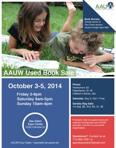 Book Sale AAUW 2014